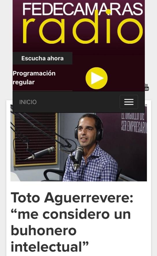 Fedecámaras Radio 2017