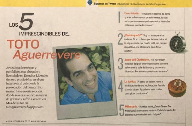 Revista Estampas 2010
